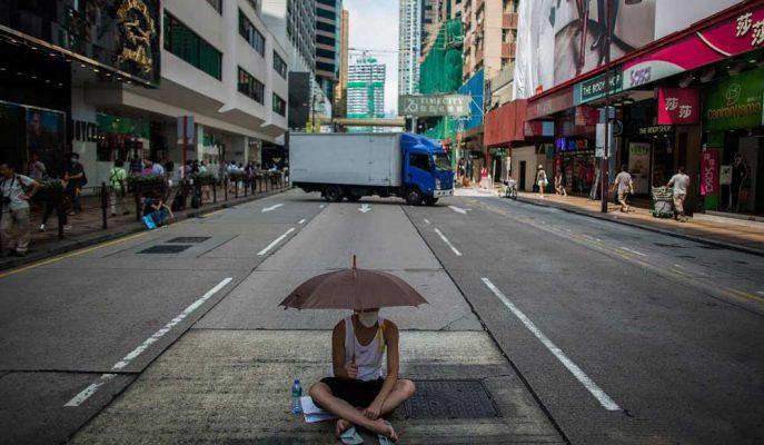 Hong Kong 3Ç19 Büyümesi, Protestolar ve Ticaret Savaşıyla Daha da Kötüleşti