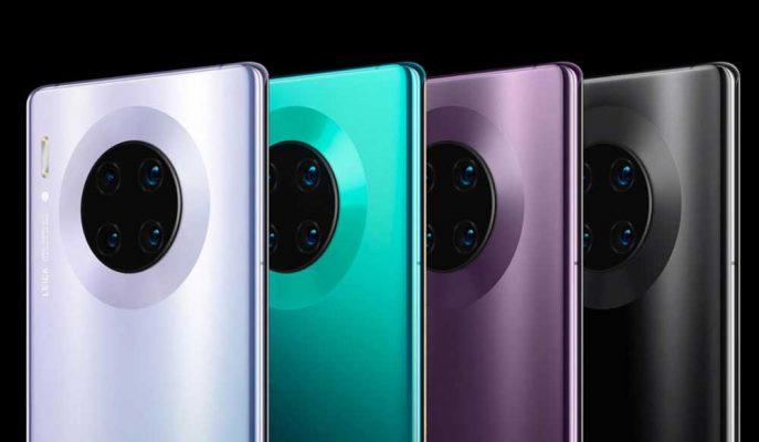Huawei'nin 5G Özellikli Mate 30 Modelleri Dakikalar İçerisinde Satış Rekoru Kırdı