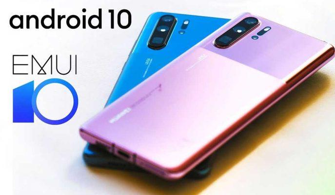 Huawei P30 Ailesi için EMUI 10 Sürümünü Dağıtmaya Başladı