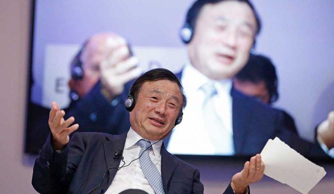 Huawei'nin Patronu Zhengfei En İyi Olmak için Google'a İhtiyaçları Olmadığını Söyledi