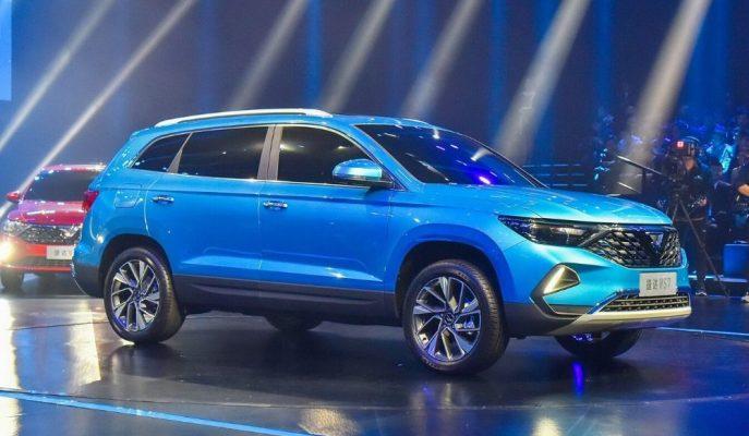 VW'nin Markalaştırdığı Jetta'nın VS7 SUV'u Gösterildi!