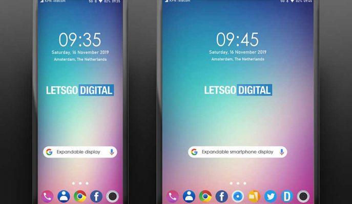 LG Akıllı Telefonlarında Katlanma Yerine Genişleyen Ekran Teknolojisini Düşünüyor