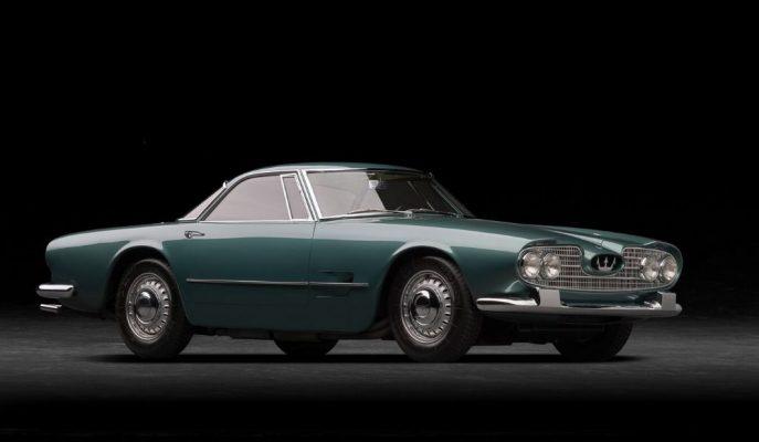 Pers Prensi'nin İsteğiyle Yapılan Maserati 5000 GT 60. Yılını Kutluyor!