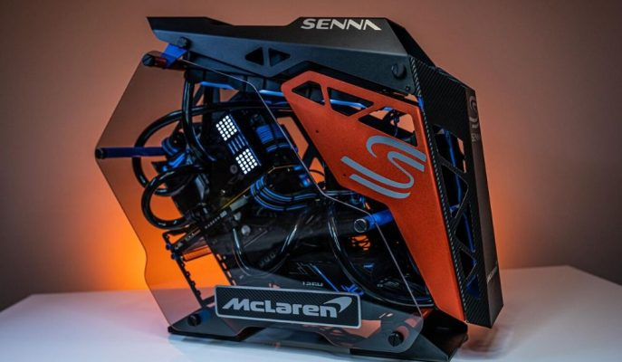 McLaren Senna Hipercar Temalı Bilgisayara Ne Dersiniz?