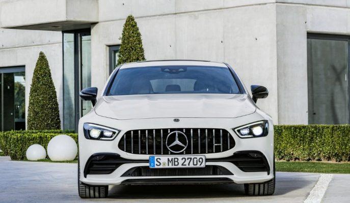 Mercedes-AMG GT 4-Door'a 2020 Yılında Hibrit Takviyesi Geliyor!
