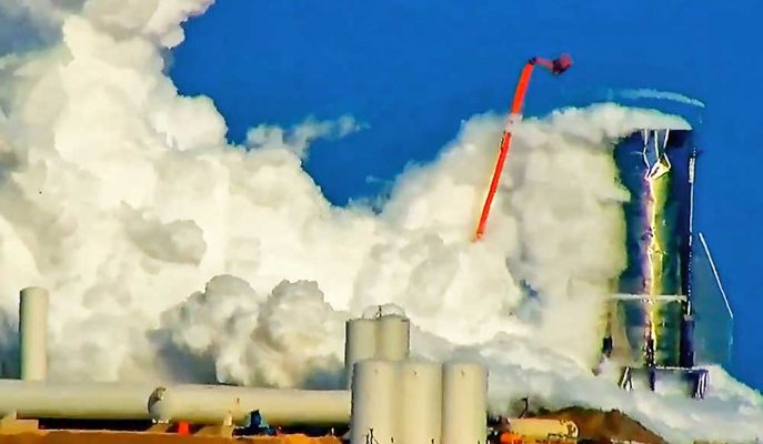 SpaceX'in Mars için Hazırladığı Starship Roketi Yüksek Basınca Dayanamadı