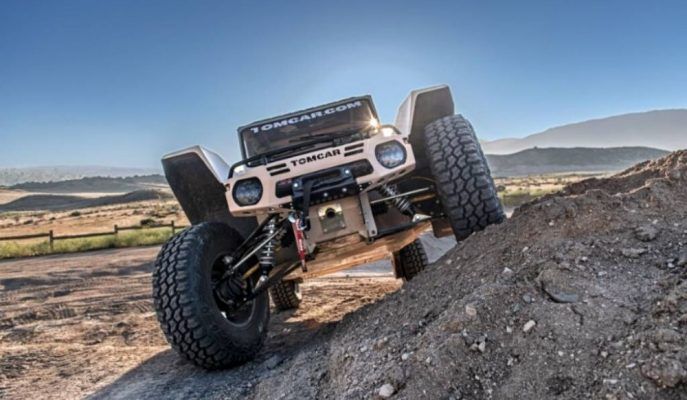 Tomcar, İsrail Özel Kuvvetler Aracı TX Serisini Sivillere TX4 Olarak Sunuyor!