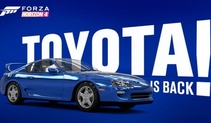 Toyota Supra MK4 12 Aralık'ta Forza Horizon 4'e Geliyor!