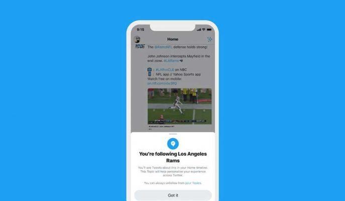 Twitter Kullanıcıların Kendi İstedikleri Konuları Takip Edeceği Bir Özellik Geliştirdi