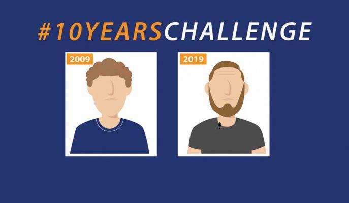 Uzmanlar Sosyal Medya Kullanıcılarını 10 Years Challenge Akımına Karşı Uyarıyor