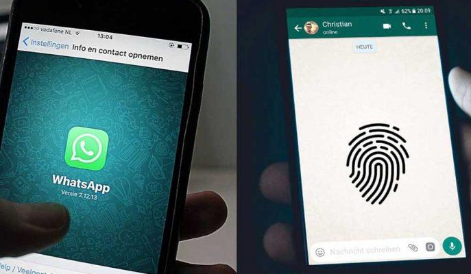 WhatsApp Daha önce iOS için Sunduğu Parmak İzi Özelliğini Android'e Getirdi