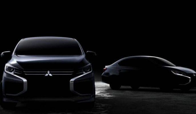 2020 Mitsubishi Mirage ve Attrage Uzun Aradan Sonra Yeni Yüzlerine Kavuşuyorlar!