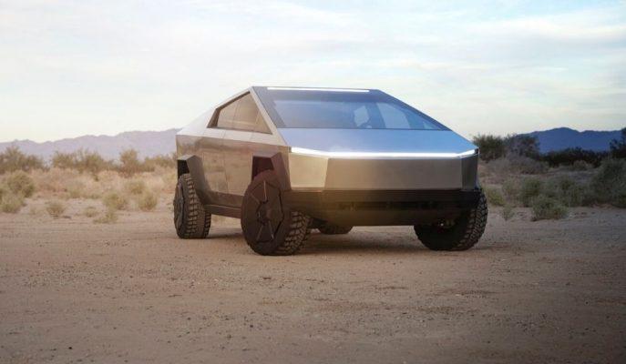 Yeni Tesla Cybertruck Pick-up Konsept Uzay Gemisi Karakteriyle Gösterildi!