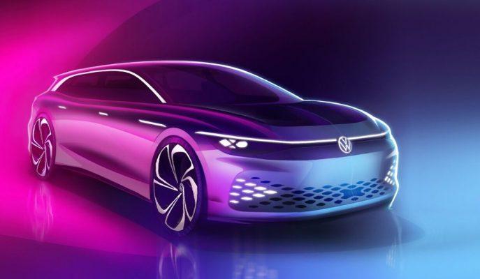 VW'nin Yeni Elektrili Premium Otomobili ID Space Vizzion Konsept!