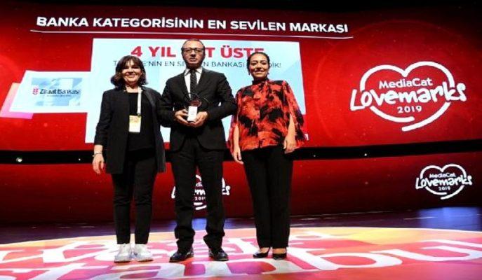 Ziraat, Dört Yıl Üst Üste Türkiye'nin En Sevilen Bankası Seçildi!