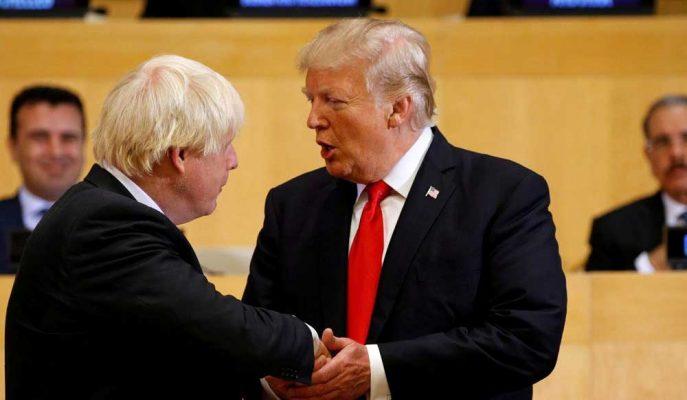 Boris Johnson'ın Seçim Zaferini Kutlayan Trump, Büyük Bir Anlaşmaya İşaret Etti