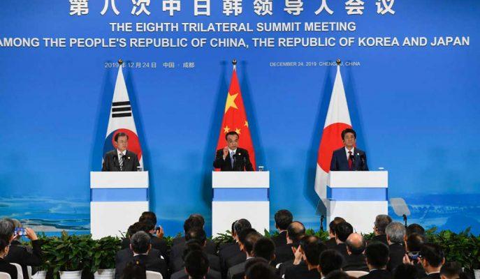 Çin, Japonya ve Güney Kore, Kuzey Kore-ABD Konusunda Anlaştı