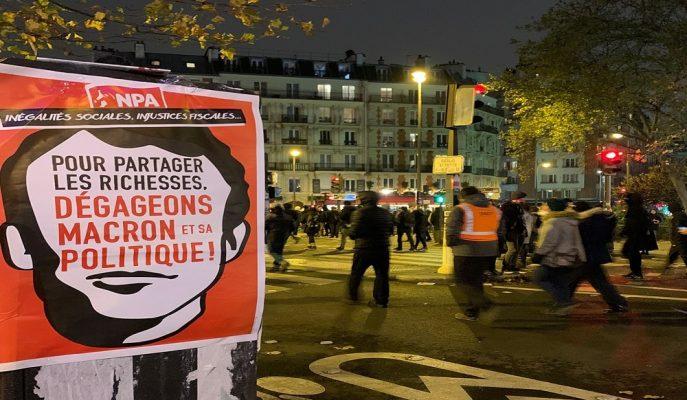 Fransa'da Macron Reformu Grevleri 9. Gününde Hayatı Durma Noktasına Getirdi!