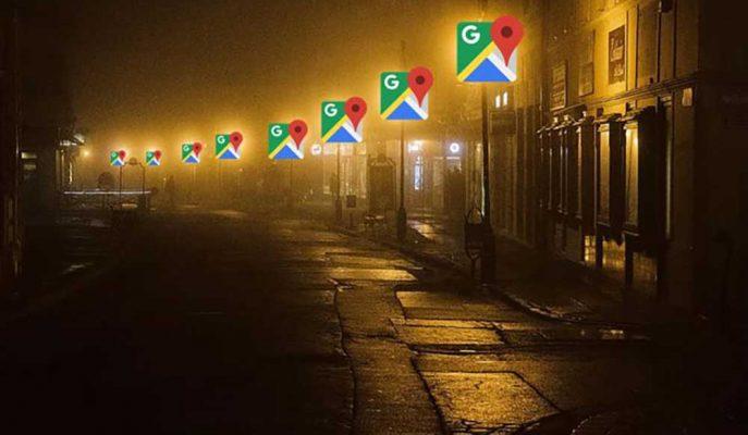 Google Haritalar Kullanıcıları Aydınlık Yollara Yönlendirecek