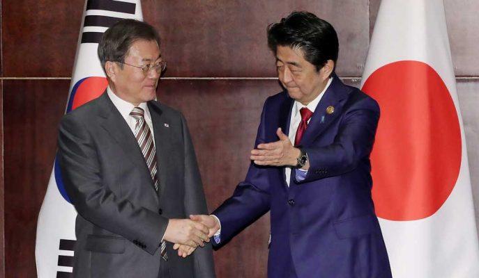 Japonya Başbakanı Güney Kore'yi Anlaşmazlıklarını Çözmeye Çağırdı
