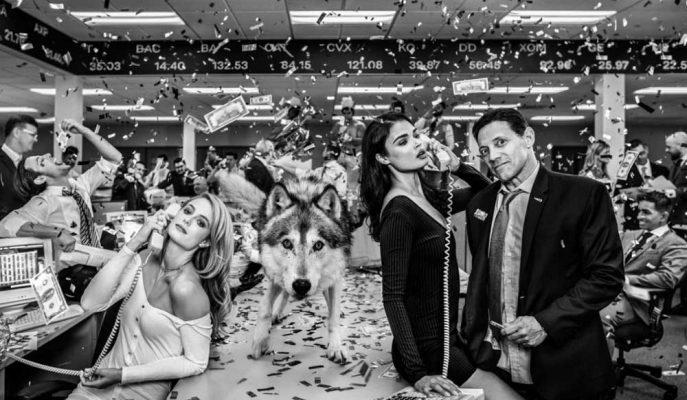 Jordan Belfort'lu Wall Street Kurdu Fotoğrafı 200 Bin Dolara Satıldı