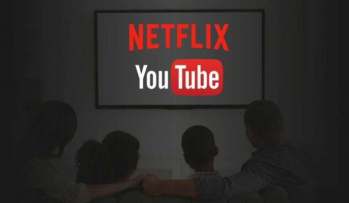 Netflix ve YouTube'un Yeni Rakiplerin Çıkmasıyla İzlenme Paylarının Azalacağı İddia Edildi