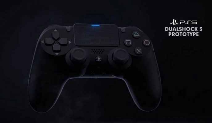 PlayStation 5'in Kontrol Cihazı Dualshock 5'in Tasarımı Tahmin Edildi