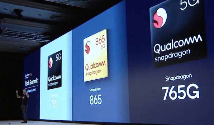 Qualcomm Akıllı Telefonlar için 5G İşlemcilerini ve Yeni Parmak izi Teknolojisini Tanıttı