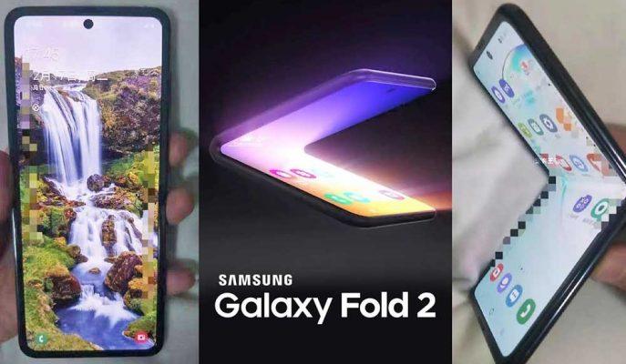 Samsung'un Sıradaki Katlanabilir Modeli Galaxy Fold 2 Tahminleri Boşa Çıkarmadı