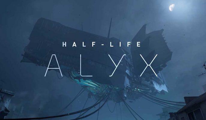 Valve'ın VR Oyunu Half Life: Alyx'ten Oyun içi Görüntüler Geldi