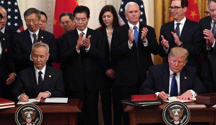 ABD-Çin Anlaşmasının Bir Yıl İçinde Dağılma Olasılığı Yüzde 50
