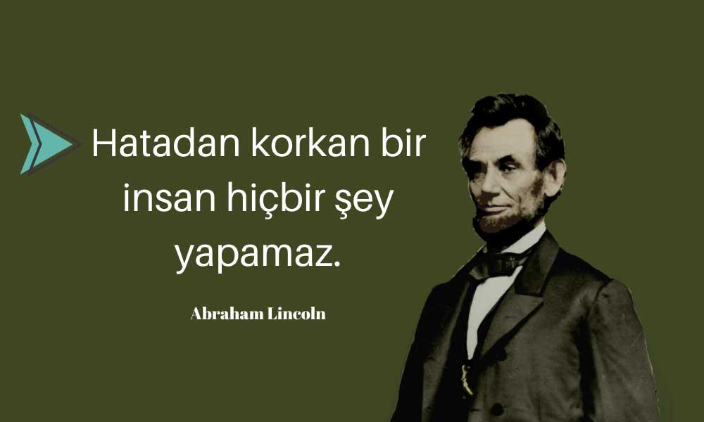 Abraham Lincoln: Başarısızlığın Öyküsü