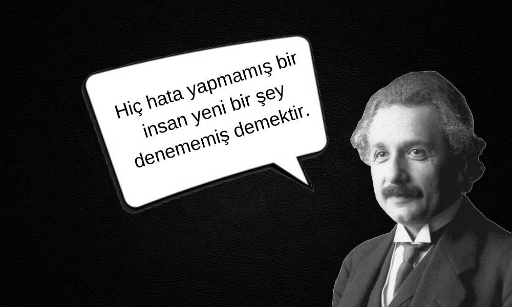 """""""Geri Zekalısın"""" Diyenlere Aldırmayan Albert Einstein"""
