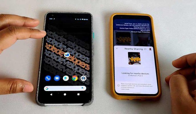 Android için Gelecek AirDrop Benzeri Sistemin Dosya Aktarım Hızı Büyülüyor