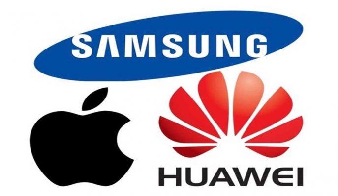 Apple, Samsung ve Huawei'nin 2019'da Akıllı Telefon Sevkiyatları Araştırıldı
