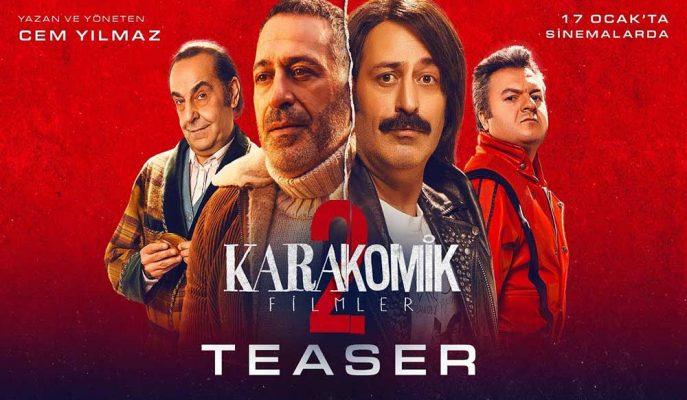 Cem Yılmaz'ın Beklenen Filmi Karakomik Filmler 2: Deli ve Emanet'ten Yeni Teaser Geldi