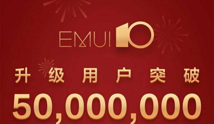 Huawei'nin  EMUI 10 Arayüzünü Yükleyen Kullanıcı Sayısı 50 Milyona Ulaştı
