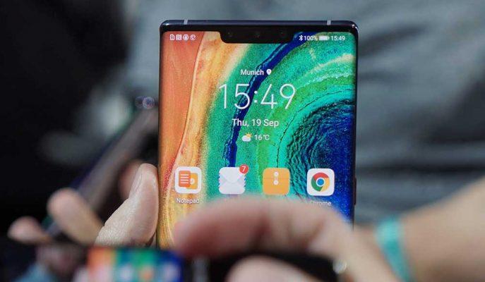 Huawei'nin En Güçlüsü Mate 30 Pro Sağlamlık Testine Girdi