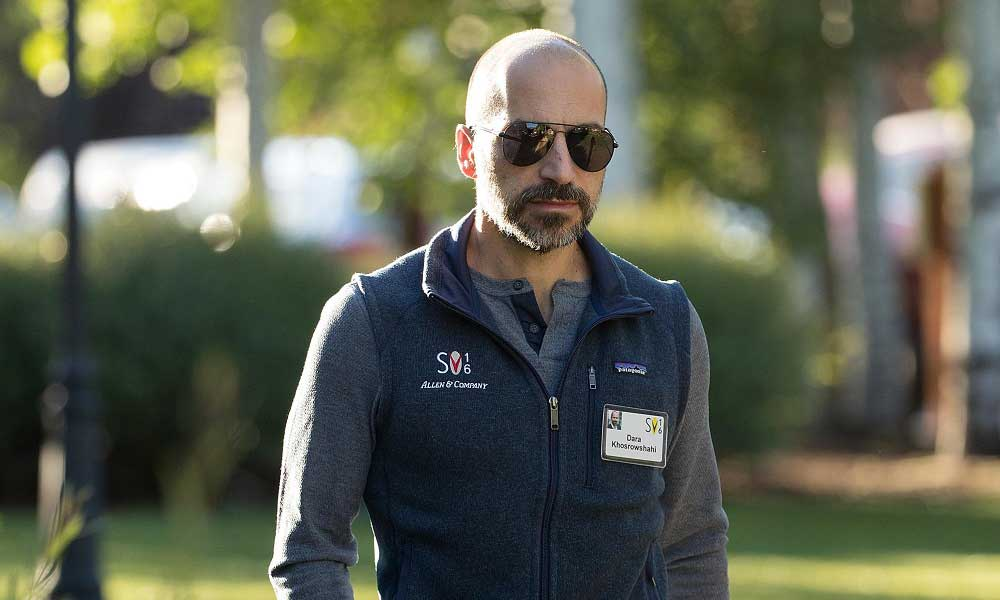 Uber CEO'su Dara Khosrowshahi