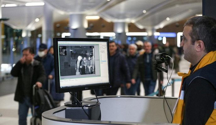 İstanbul Havalimanı'nda Çin'den Gelen Yolculara Virüs Taraması Başladı