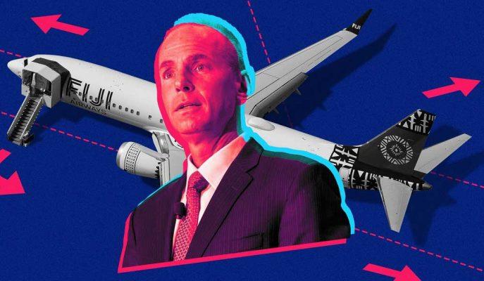 Kovulan Boeing CEO'su Muilenburg, Şirketten Milyon Dolarlarla Ayrılıyor