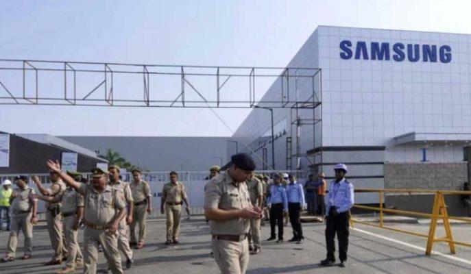 Samsung Akıllı Telefon Ekranı Üretmek için Hindistan'a Dev Yatırım Yapıyor
