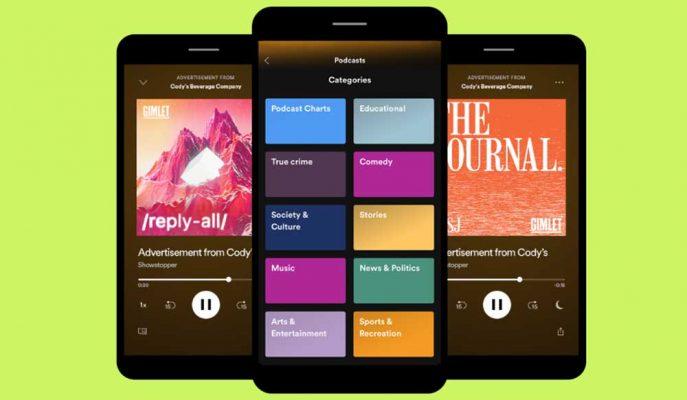 Spotify Podcast Yayınlarında Reklam Gösterimi Yapmayı Planlıyor