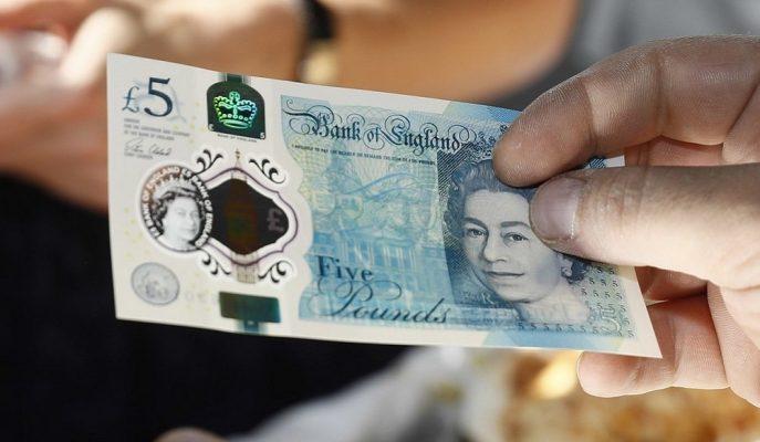 Sterlin BoE'nin Gelecek Haftaki Faiz Kararı Öncesinde Düşüşe Yöneldi