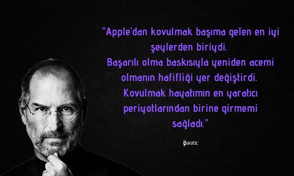 Steve Jobs ve Sıra Dışı Hikayesi