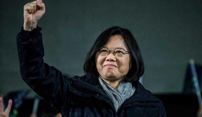 Tayvanlılar Sert Çin Duruşuyla Tanınan Tsai'yi Yeniden Başkanlığa Seçti