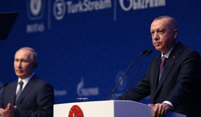 Açılış Töreninde Konuşan Erdoğan, TürkAkım'ın Tarihi Bir Proje Olduğunu Söyledi