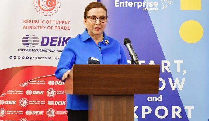 Türkiye – Litvanya Arasındaki Ticaret Hacminin 1 Milyar Dolara Çıkarılması Hedefleniyor