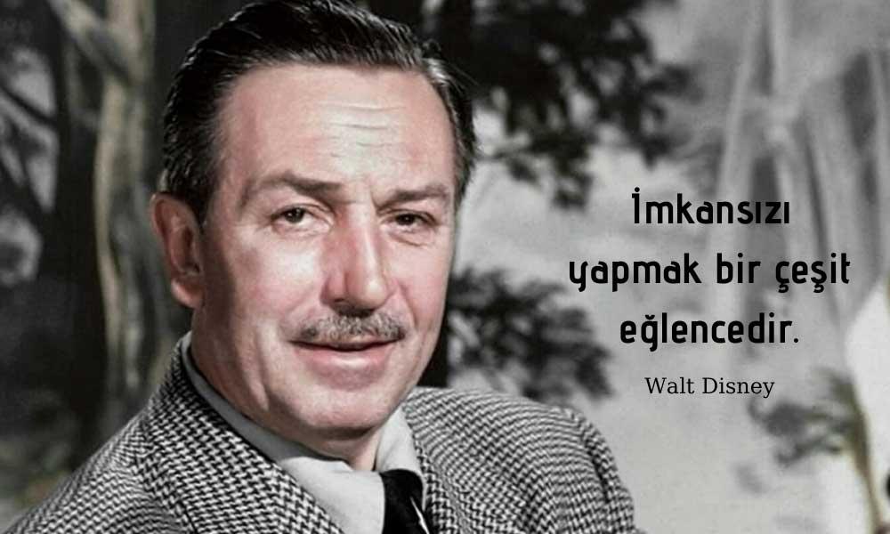 Walt Disney ve Yoksulluğu Sayesinde Tanıştığı Minik Fareyle Yarattığı Öyküsü