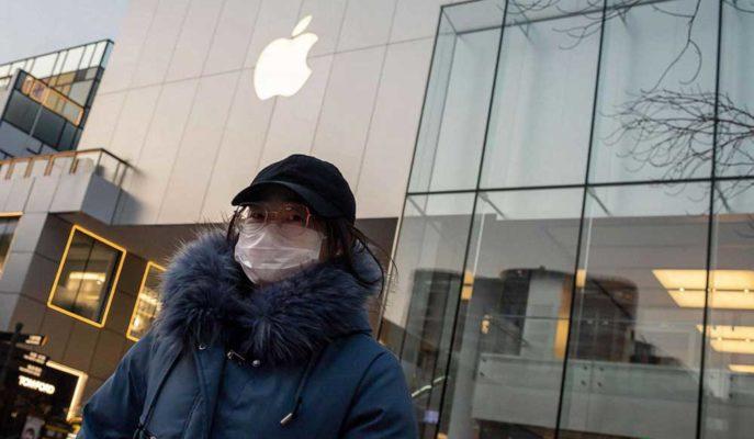 Apple Çin'de Aldığı Mağaza Kapatma Kararını Bir Süre Daha Uzatıyor